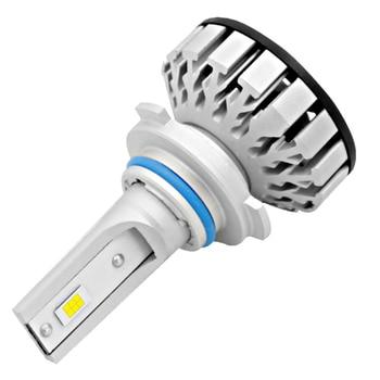 2 X HB4/9006 R8 LED Headlight Bulb 40W 4000LM 9V-36V IP68 Waterproof 6000K Cold White 200m Light Range 360 Degree Beam for Car