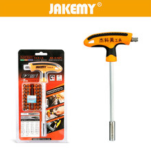 JAKEMY 32in1 Screwdriver Bit Set Ratchet Screwdriver Set T Type Hex Star Spanner Tri Wing Electric Screwdriver Magnetic Holder