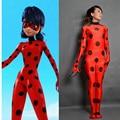 Kid Adult In Stock Free Yoyo Earring High Quality Tailor Miraculous Ladybug Cosplay Costume Ladybug Suit Ladybug Suit