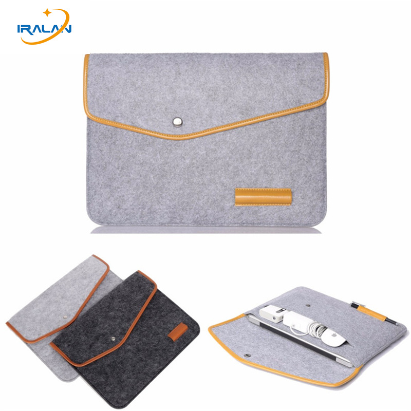 fashion Protective Cover 11 12 13 15 Sleeve Case for Apple Macbook Air Pro Retina 13.3 15.4 Notebook Laptop Bag Christmas gift