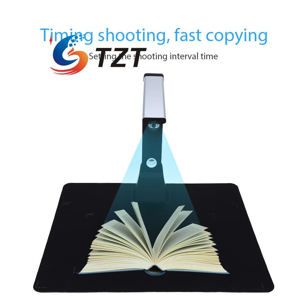 10MP A3 A4 A5 3672x2856 USB Document Book Photo ID Video Scanner FHD Cam H1000 dt 2856 photo touch type tachometer dt2856