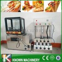 De best verkopende 304 rvs Pizza Cone & Oven Maker/Maken Machine En Pizza Display Kasten Gratis Verzending door Zee|pizza cone|pizza cone making machinecone pizza machine -