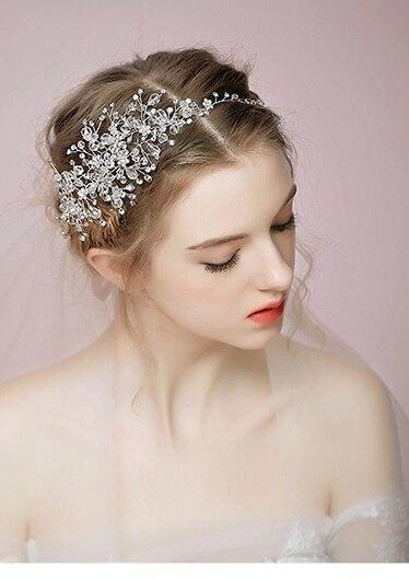 Bridal Hair Accessories Boho : Online shop silver bridal halo. crystal hair vine. victoria boho