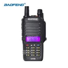 Baofeng uv-5s ip67 a prueba de agua walkie talkie de largo alcance de radio de dos vías vhf uhf de radio de jamón handheld comunicador portátil radios cb