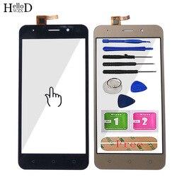 Czujnik dotykowy ekran dotykowy szkło dla Vertex Impress Luck montaż panelu dotykowego czujnik obiektywu przednia taśma szklana narzędzia telefon komórkowy w Panele dotykowe do telefonów komórkowych od Telefony komórkowe i telekomunikacja na