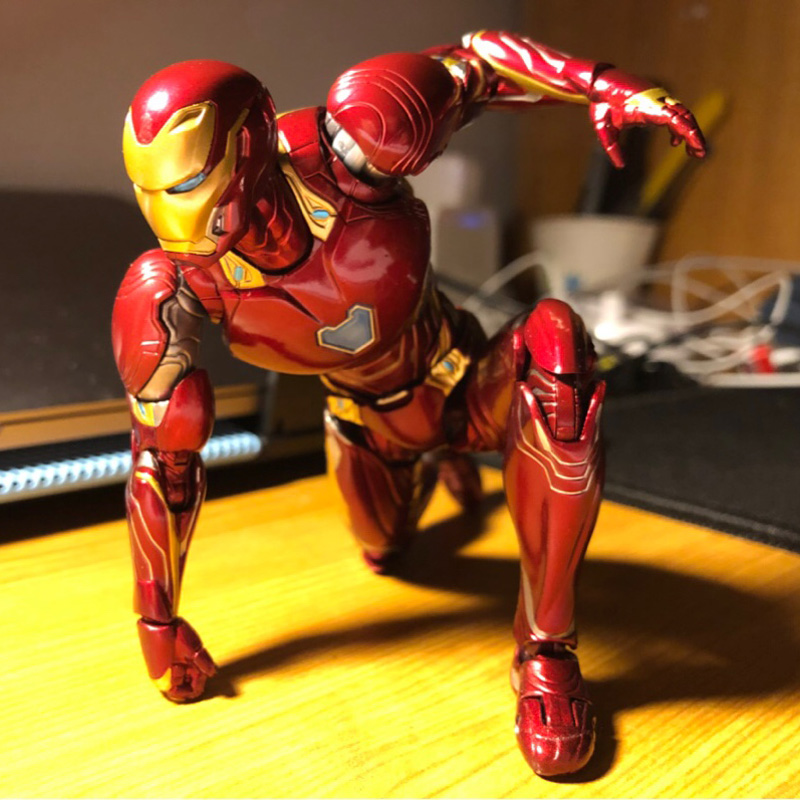 Back To Search Resultstoys & Hobbies Avengers Infinity War Superhero Iron Man Tony Stark Manufacturing Helmet Scene Version Pvc Action Figure Collectible Model Toy Buy One Give One