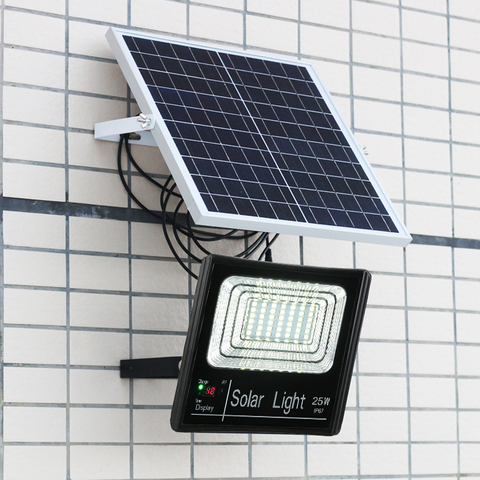 25 w sensor de iluminacao luz solar spotlight a prova dwaterproof agua ao ar livre