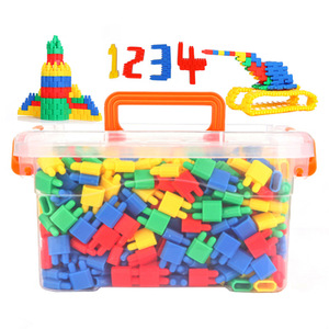 Image 2 - Assembling Toys To Develop Intelligence To Insert Blocks DIY Bullet Building Block Toy Educational Toys Bulk For Children Gift