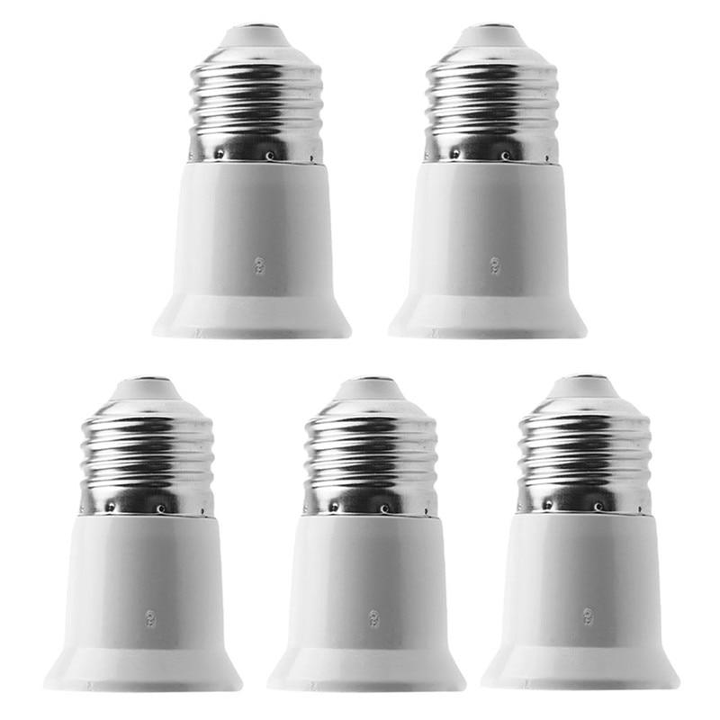 1Pc Base LED Light Lamp Bulb Adapter Converter Socket Extender E27 To E27 VEF06 P0.11