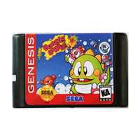 Super Bubble Bobble 16 bit MD Spiel Karte Für Sega Mega Drive Für SEGA Genesis