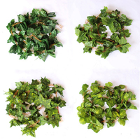 NuoNuoWell 2.5m Artificial Hanging Ivy Vine Leaf Garland Fake Foliage Flowers Home Garland 3D Decor