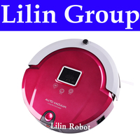 1pc Lot 4 In 1 Multifunctional Robot Vacuum Cleaner Sweep Vacuum Mop Sterilize LCD Touch Button