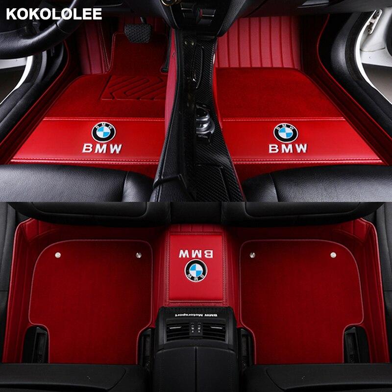 Kokololee Personalizzato tappetini auto per Maserati tutti i modelli GranTurismo Ghibli quattroporte Levante car styling accessori auto