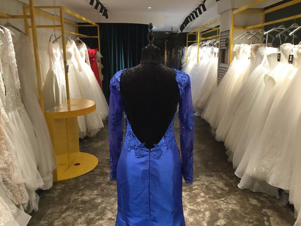 Elegante Illusion Lace avondjurken Robe De Soiree Lace Applique Floor - Jurken voor bijzondere gelegenheden - Foto 5