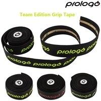 Prologo 오리지널 원터치 실리콘 젤 자전거 핸들 바 테이프 팀 에디션 도로 자전거 그립 테이프 사이클링 바 엔드 그립 붕대