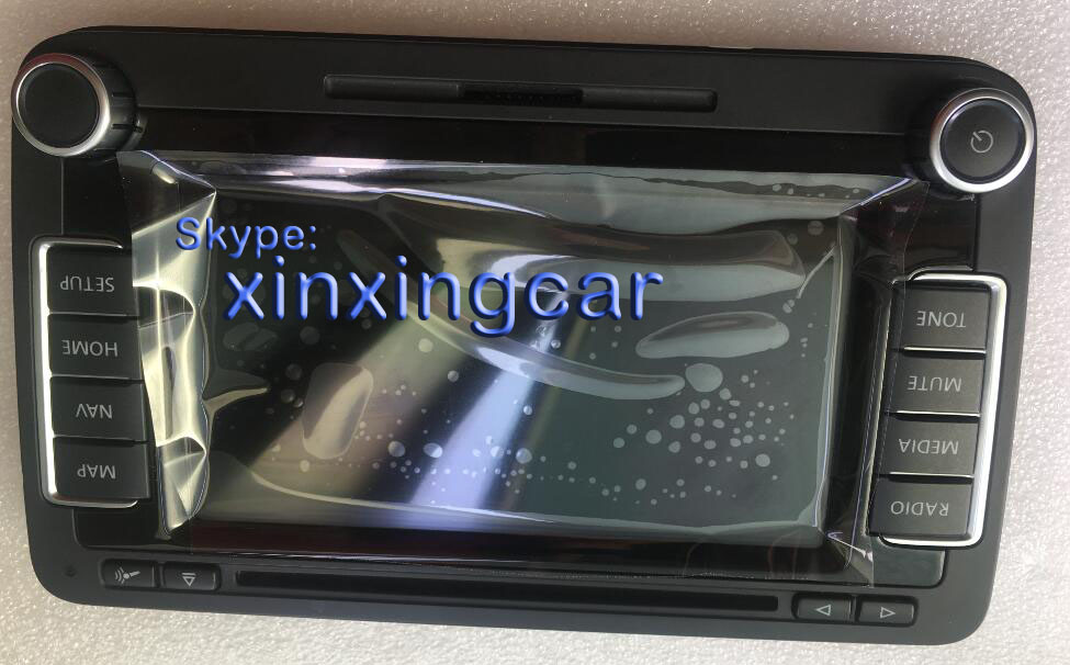 6.5 LED display Panel with touch screen for VW Volkwagen RNS510 car GPS navigation audio systems