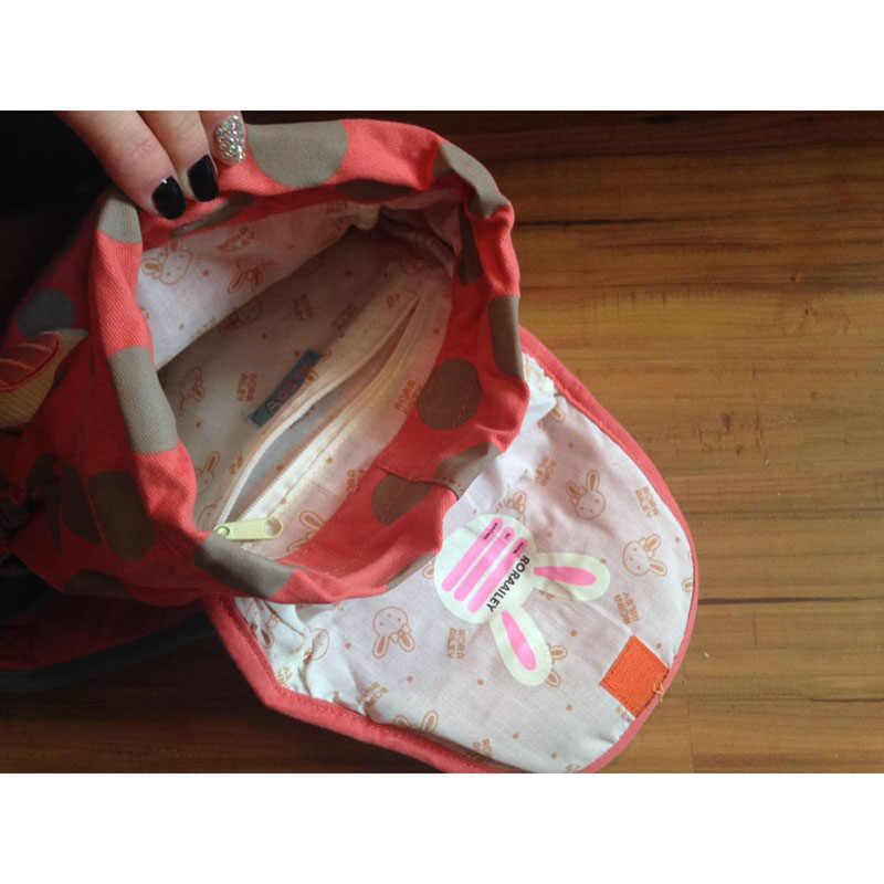 BAIJIAWEI 2019 Tier Stil Schule Tasche Niedlichen Kaninchen Plüsch Rucksack Kinder Schul Für Mädchen Kindergarten Kinder Tasche