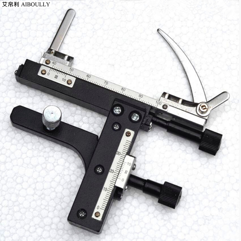 AIBOULLY XY 1 Microscope XY axis moving font b caliper b font single layer stage rolling