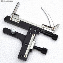 Best price AIBOULLY XY-1 Microscope XY axis moving caliper single layer stage rolling scale XY axis moving platform