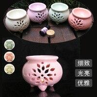 Japanese Style Tripod Incense Burner Candle Holder Oil Lamp Incense Burner Cafe Bar Home Table Decorative