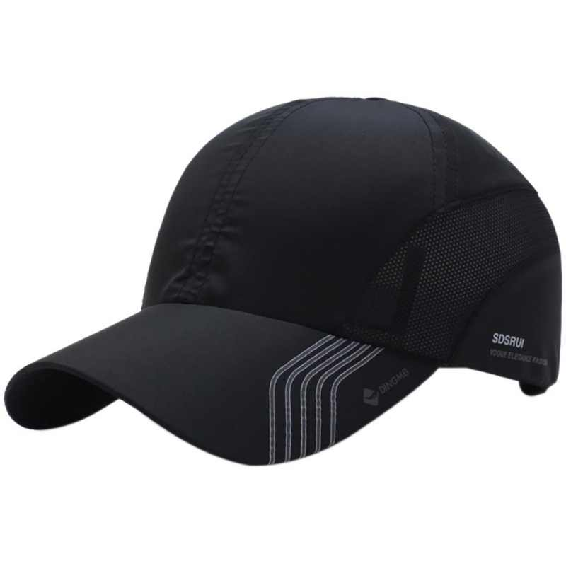 af2909658f1 2018 New Quick-drying Golf Mesh Cap Summer Golf Cap For Fishing Climbing  Hiking Male