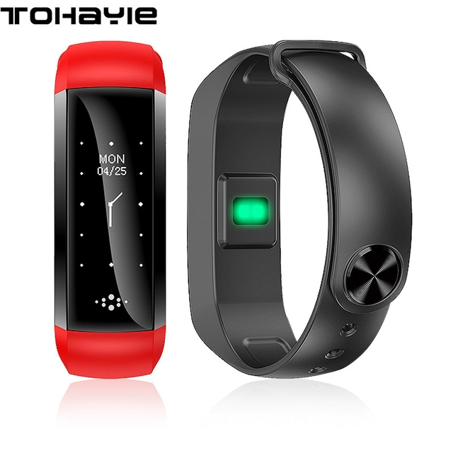 Tohayie Smart Wristband Heart Rate Fitness Tracker Cicret Bracelet