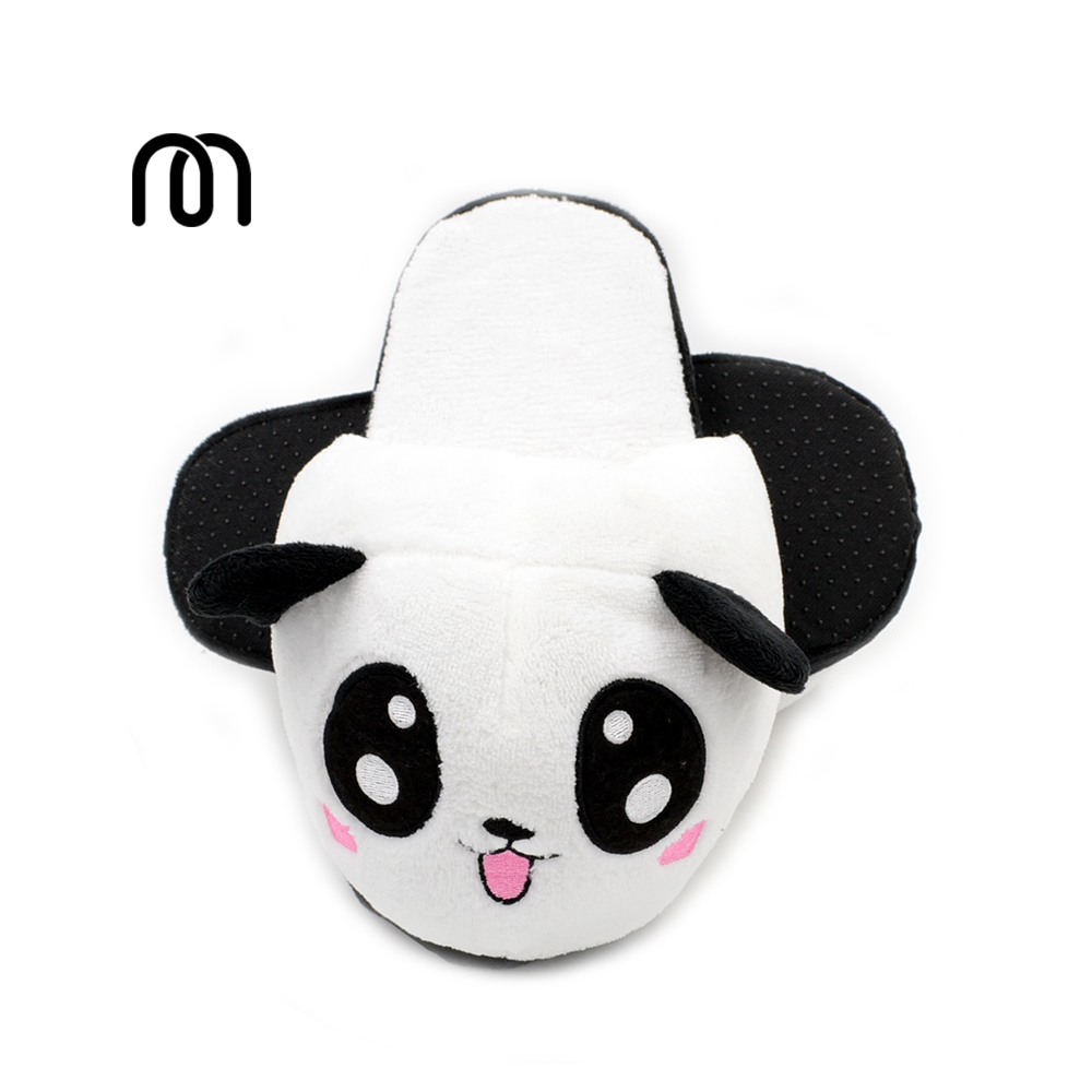 Millffy plush panda animal big head lovely plush slipper adult funny slippers panda slippers 2017 totoro plush slippers with leaf pantoufle femme women shoes woman house animal warm big animal woman funny adult slippers page 6