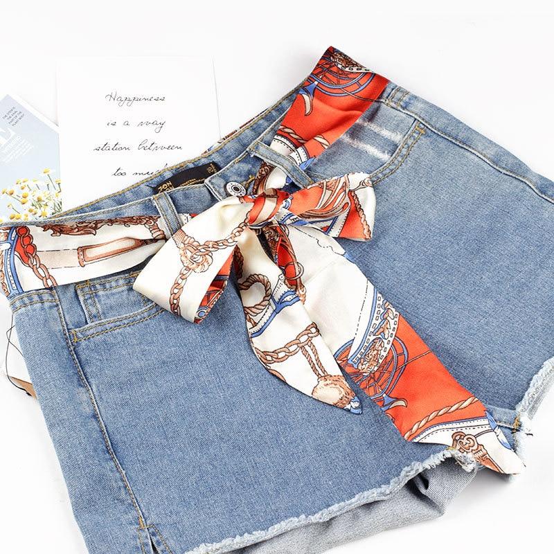 2020 New Fashion Wide Waist Fabric Belt Women Ladies Silk Scarf Solid Ribbon Knot Strap Rope Belts For Dresses Ceinture Femme