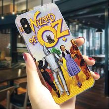Чехол для телефона Wizard of OZ чехол для iPhone 7 Plus 5 5S SE 6 6 S/6 6S Plus 7 8/8 Plus X XS XR Xs Max, тонкий жесткий чехол(China)