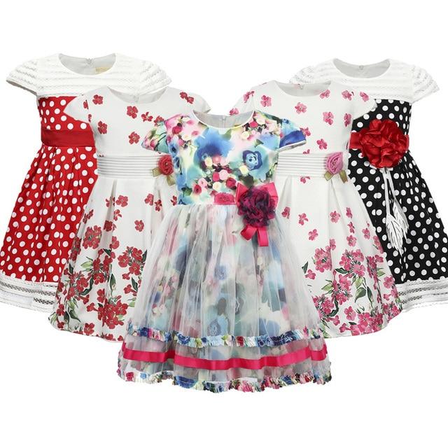 Thương hiệu Tập Đi Cho Bé Gái Váy Đầm Hoa dành cho Trẻ Em Cho Bé Gái Công Chúa Hoa Đầm Trẻ Em Cưới Tối Xmas Tiệc Trang Trọng Quần Áo