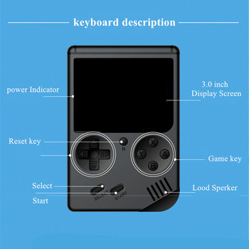 MINI portable 8 bit 168 Games retro handheld game children boy nostalgic players video game console for Child Nostalgic Player