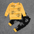 Baby boutique clothing boys girls clothes cotton sets game Master printing t-shirt+pants infant clothes 2pcs