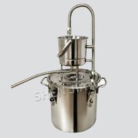 10L/20L 304 Stainless Steel Boiler Alcohol Wine Making Kit Device Home Brew Kit Water Distiller Equipment
