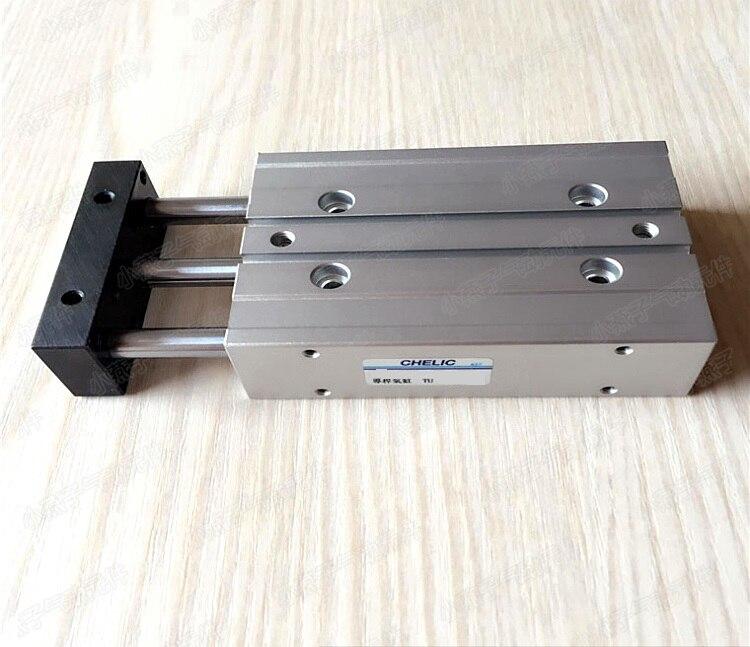 Taiwan Chelic three rod guide cylinder TU25*125 TU25X125 taiwan chelic reed switch cylinder sensor cs 9d