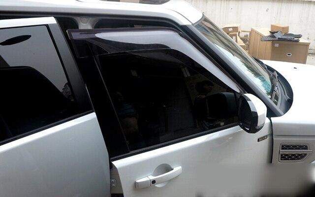 Pala janela Defletor Guarda Escudo Para Land Rover LR4 Discovery 4 2010-2015