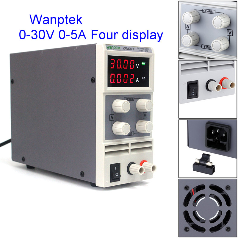 220V KPS305DF High precision single phase adjustable switching power 30V5A 0.01V 0.00A DC digital repulated Power supply for lab cps 6011 60v 11a digital adjustable dc power supply laboratory power supply cps6011