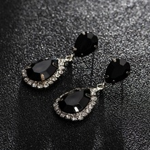 Rhinestone Crystal Drop Earrings