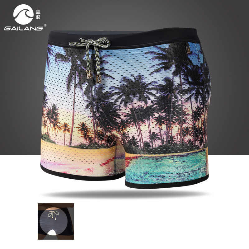 Swimming trunks for man wear pool shorts maillot de bain bikini breathable sexy swimsuit bathing suit briefs hot sell