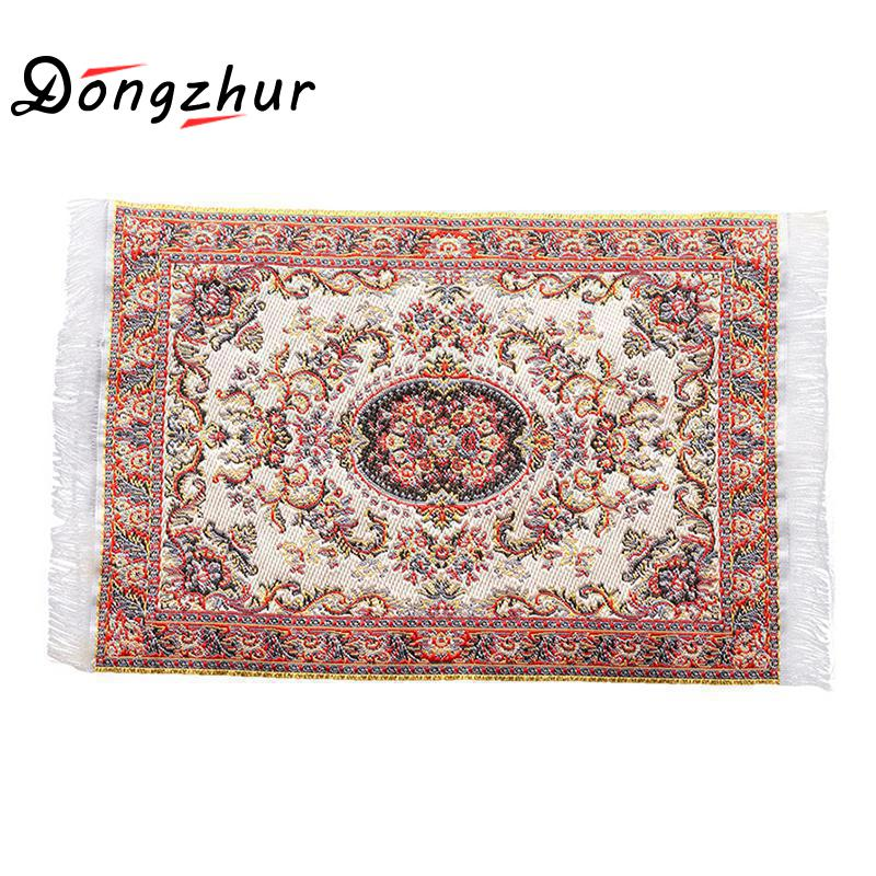 Dongzhur Dollhouse Mini Carpet Mat 1:12 Dollhouse Miniature Casa De Boneca Dollhouse Accessories Kit купить в Москве 2019
