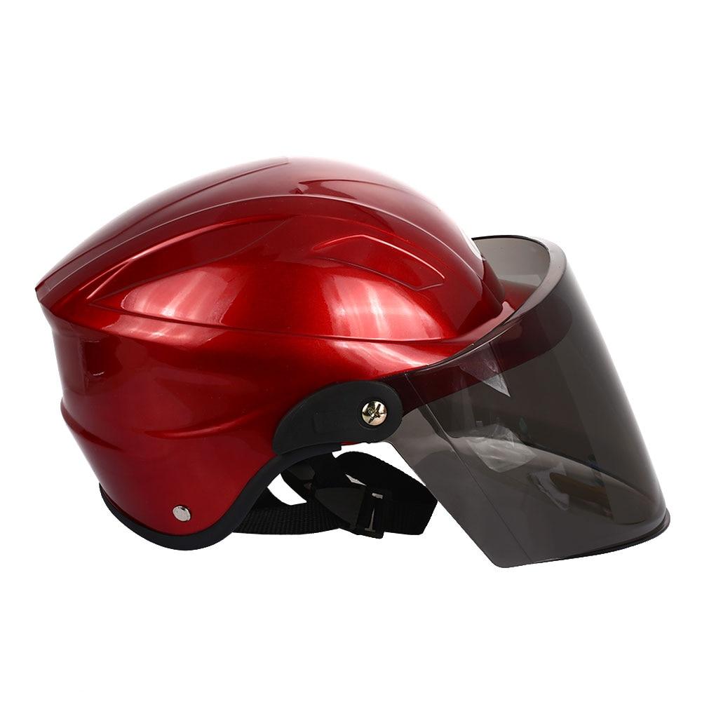 Полудуплексный Универсальный мотоциклетный шлем Велоспорт Спорт Craniacea прочные кепки Защитная шляпа
