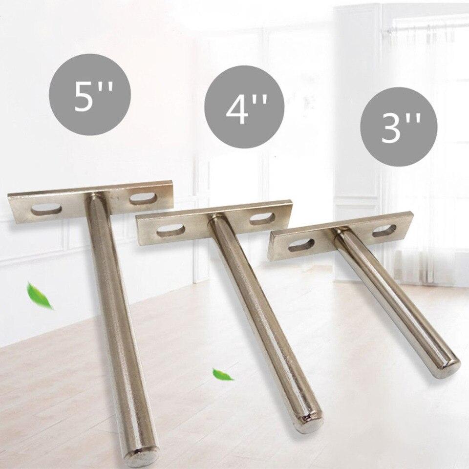 ajustable, soporte flotante, soporte oculto, para pared en casa, color plateado uxcell Soporte invisible para estante de persianas
