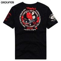 2017 Summer Style Tedman Lucky Little Devil T Shirt Men Short Sleeve Print Plus Size T