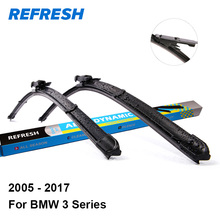 REFRESH Wiper Blades for BMW 3 Series E46 E90 E91 E92 E93 F30 F31 F34 Model Year from 2000 to 2017(China)