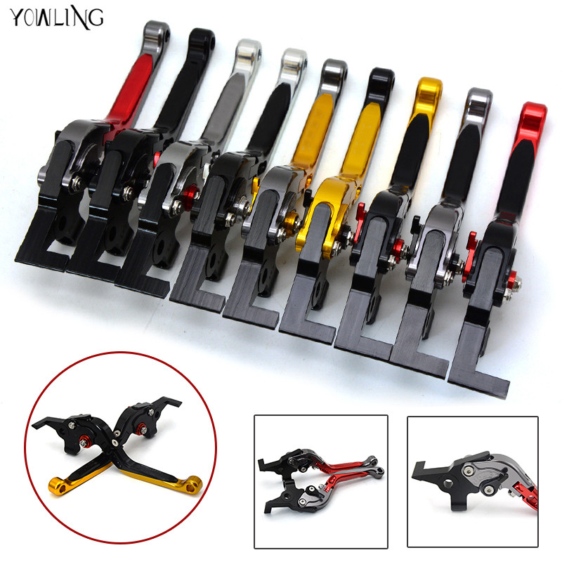 motorcycle Extendable Adjustable brake clutch levers For BMW K1200R SPORT K1200S R1200R R1200RT /SE R1200S R1200ST R1200GS F800R adjustable folding extendable brake clutch levers for moto guzzi griso breva 1100 norge 1200 1200 sport stelvio 8 colors