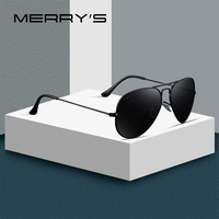 0ce3c0b8dd MERRYS DESIGN Men Women Classic Pilot Polarized Sunglasses 58mm UV400  Protection S8025