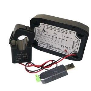 Переменный мультиметр однофазный ватт счетчик энергии с разрезом CT & USB RS485 Modbus напряжение тока Частота коэффициент мощности кВт-ч метр