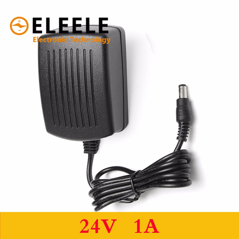 1PCS 2018 Newest Hot EU Plug AC 110V 220V Converter DC 24V 1A Server Power Supply Adapter PN35 in AC DC Adapters from Home Improvement