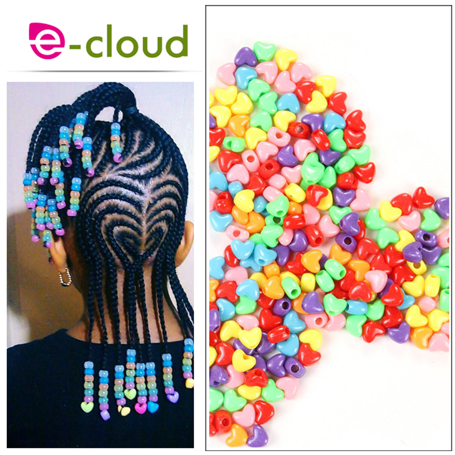 50pcs/Bag Hot Selling Adjustable Dreadlock Beads Dread Cuff Braided Colorful Hair Rings Fashion Micro Hair Beads In Braids Hair