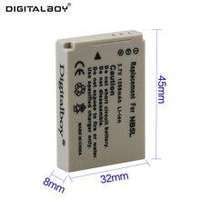 Digital Boy Hot Sale 1pcs 1200mAh 3.7V Battery NB-5L NB 5L NB5L Rechargeable Camera Battery For Canon