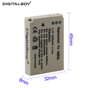 Digital Boy Hot Sale 1pcs 1200mAh 3.7V Battery NB-5L NB 5L NB5L Rechargeable Camera Battery For Canon